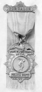 Sheridan Medal of Valor N.Y.P.D.